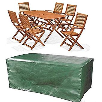 My Garden Large Oval Waterproof Garden Patio Table Chair Set Furniture Cover