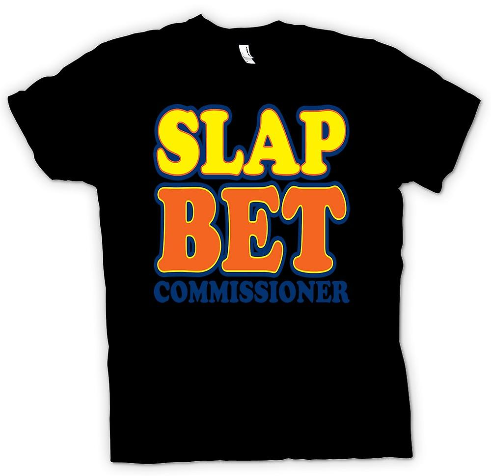 Womens T-shirt - Slap Bet Commissioner