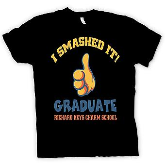 Mens T-shirt - I Smashed It - Funny Football