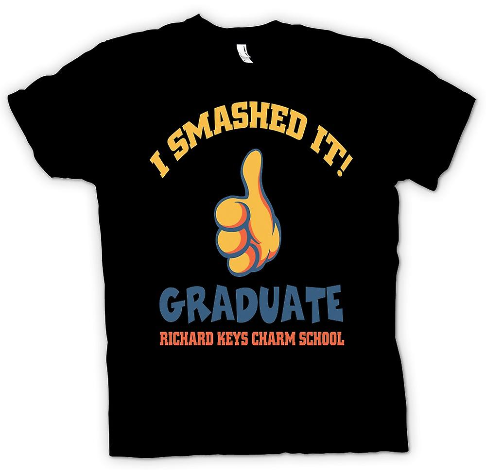 Mens T-shirt - I Smashed It - Funny Football