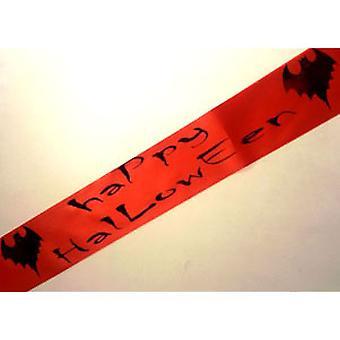 Halloween Sash with Bat Design