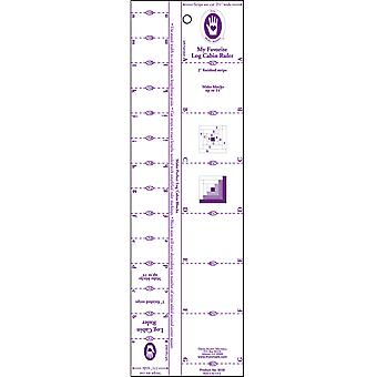 Log Cabin Ruler-1