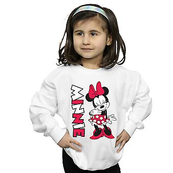 Disney Girls Minnie Mouse Giggling Sweatshirt