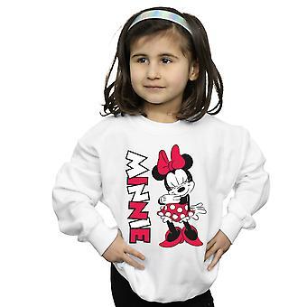 Disney Mädchen Minnie Maus kichern Sweatshirt