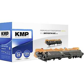 KMP Toner cartridge replaced Brother TN-245C, TN245C Compatible Cyan 2200 pages B-T49