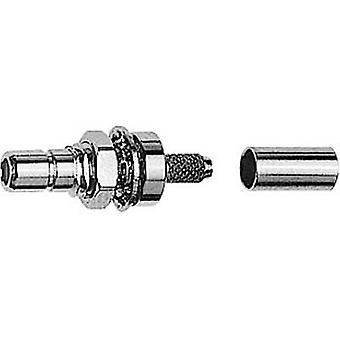 SMB connector Plug, mount 50 Ω Telegärtner J01160A0381 1 pc(s)