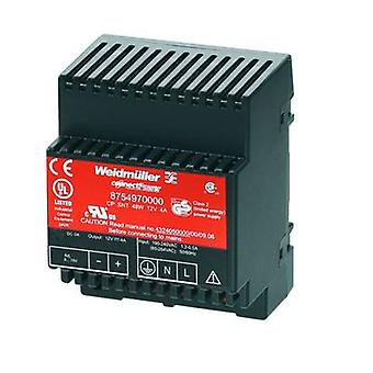 Weidmüller CP SNT 48W 12V 4A Rail mounted PSU (DIN) 12 Vdc 4 A 48 W 1 x