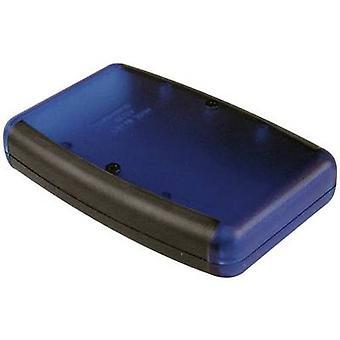 Hand-held casing 117 x 79 x 24 Acrylonitrile butadiene styrene Black Hammond Electronics 1553BBKBK 1 pc(s)