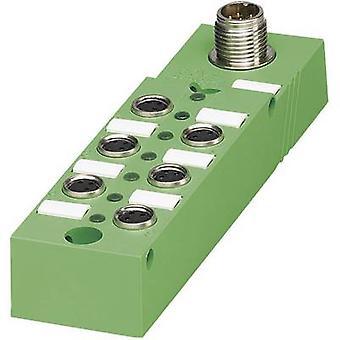 センサー ・ アクチュエータ ボックス (パッシブ) M8 + 鋼のスレッド SACB-6/3-L-M12-M8 1516247