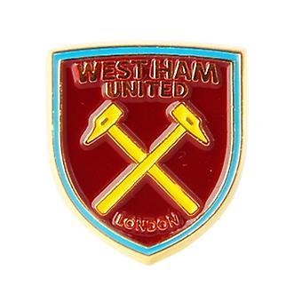 West Ham United Fc métal / émail Pin Badge - produit sous licence