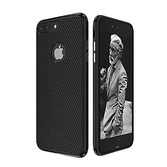 Hybrid silicone Silicon skin case cover for Apple iPhone 8 plus case cover black