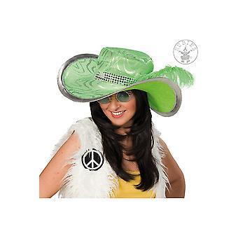 Grüne Hippie Hut Hüte