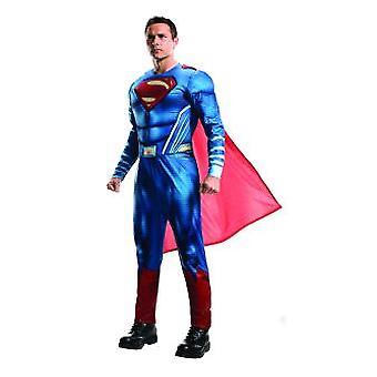 Quadrinhos de carnaval Super herói Halloween de liga da justiça o Superman traje masculino