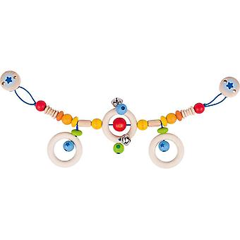 Heimess Pram Chain Rainbow With Clips