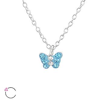 Butterfly - 925 Sterling Silver Necklaces - W37645x
