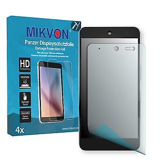 Wileyfox Swift 4G Dual Sim Screen Protector - Mikvon Armor Screen Protector (Retail Package with accessories)