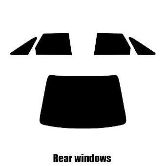 Pre gesneden venster tint - Rover 400 4-deurs sedan - 1989 tot en met 1995 - achterzijde windows