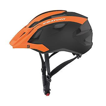 Casque de vélo CRATONI AllRide / / orange/noir mat