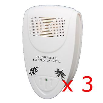 3 x Kabalo UK PLUG IN ULTRASONIC PEST REPELLERS
