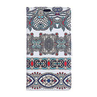 Sony Xperia XA2 Plånboksfodral Arabic Floral Pattern