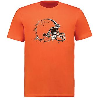 Fanatics splatter T-Shirt - NFL Cleveland Browns orange