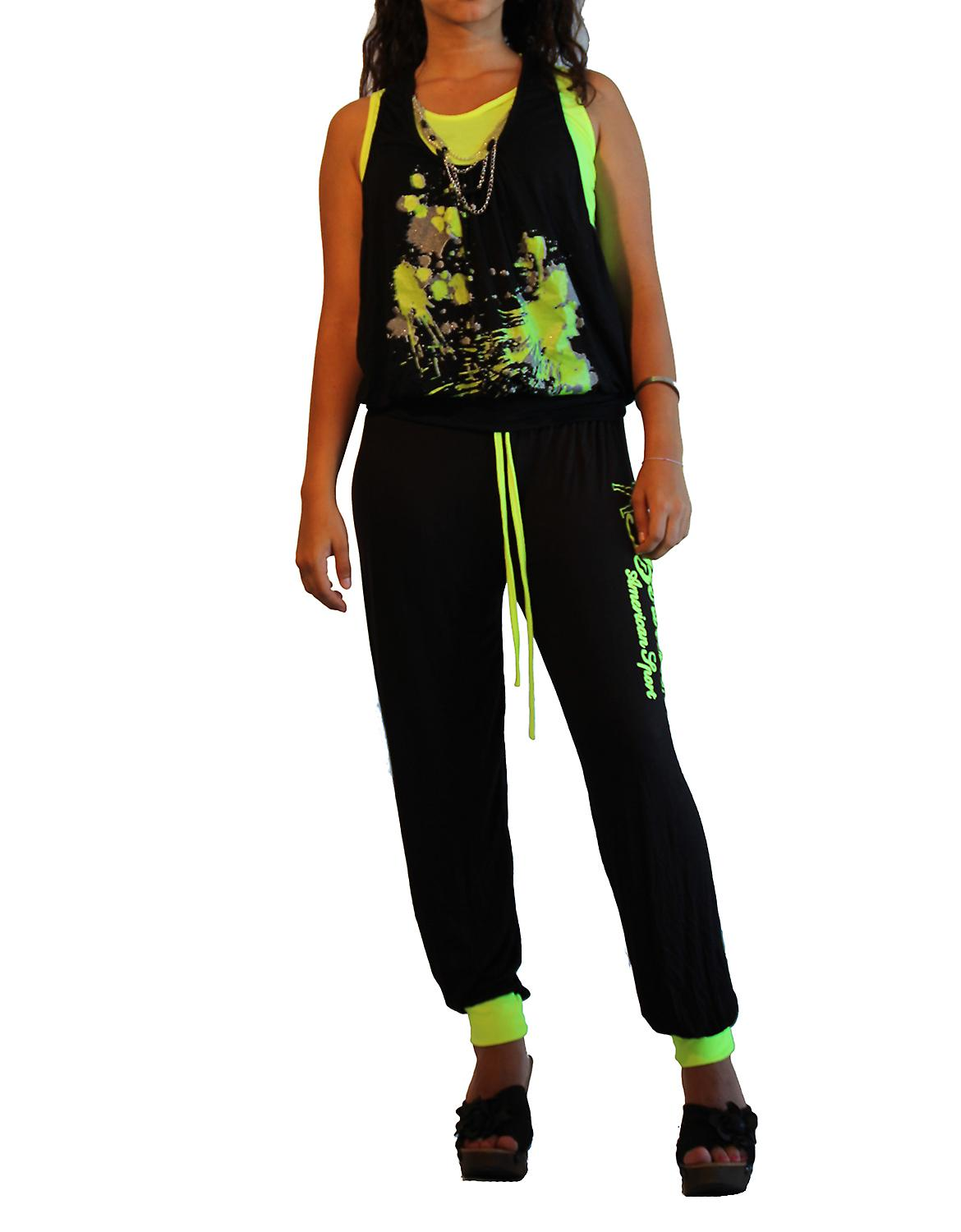 Waooh - Mode - Ensemble jogging fluo
