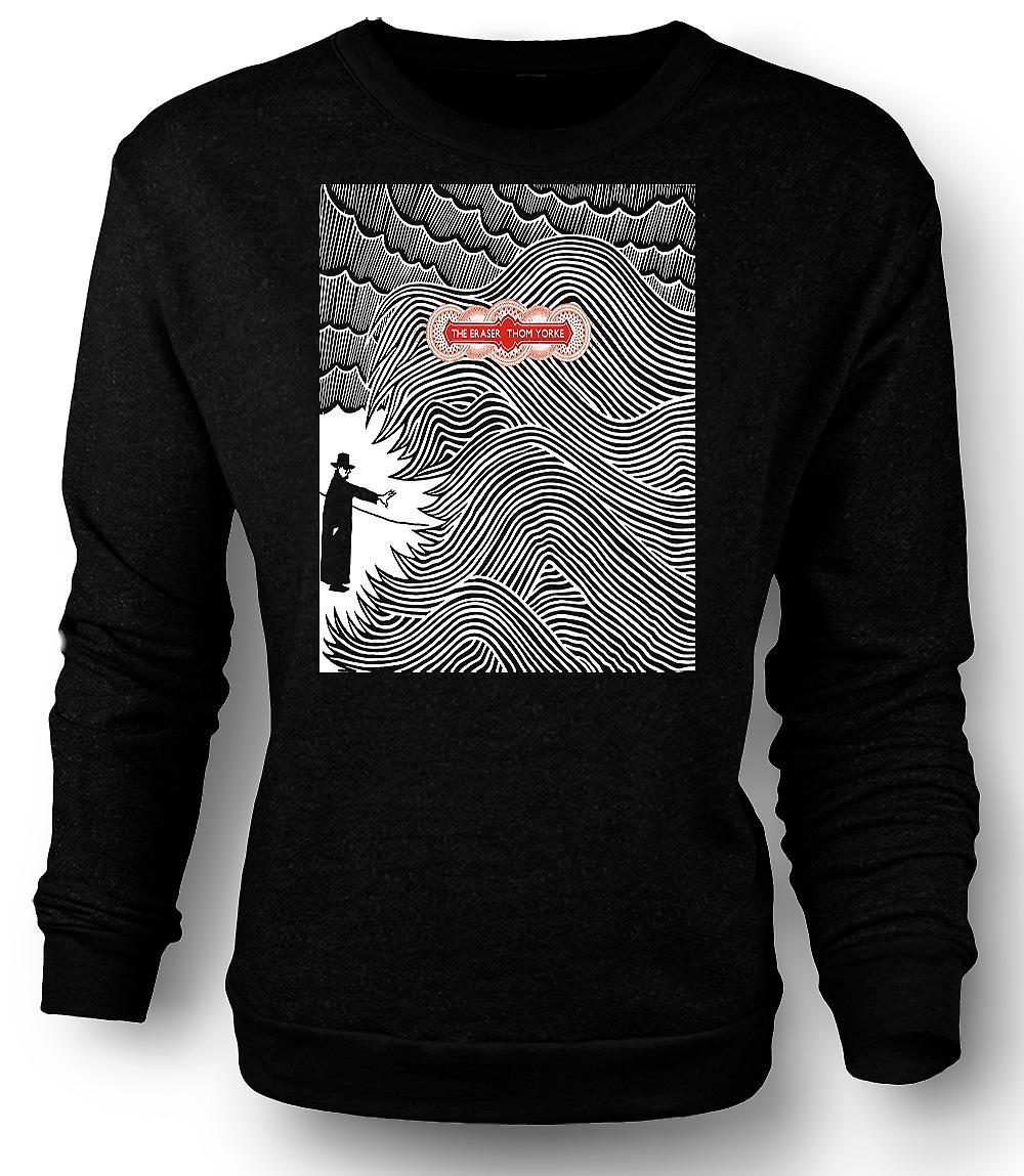 Mens Sweatshirt Thom Yorke - Radiohead Eraser