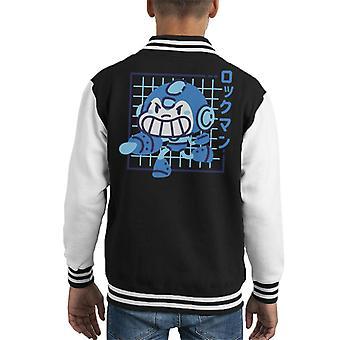 Rokkukid Japanse tekst Kid's Varsity Jacket