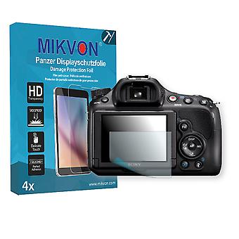 Sony SLT-A58K Alpha Screen Protector - Mikvon Armor Screen Protector (Retail Package with accessories)