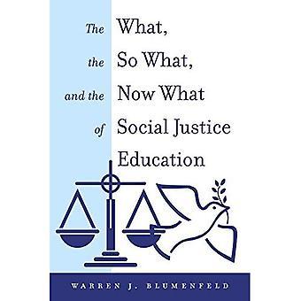 Hva, så hva og nå hva med sosial rettferdighet utdanning (egenkapital i høyere utdanning teori, politikk og praksis)