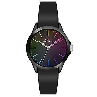 s. Oliver _ unisex bracelet quartz analogue watch, Silicone 3197 _ PQ
