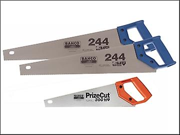 Bahco 244 x 2 Hardpoint Handsaw 500mm 20in + 1 14in toolbox saw