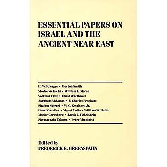 Vigtige papirer på Israel og gamle nær øst ved Greenspahn & Frederick E.