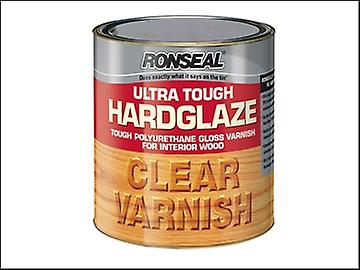 Ronseal Ultra Tough Hardglaze Internal Clear Gloss Varnish 2.5 Litre