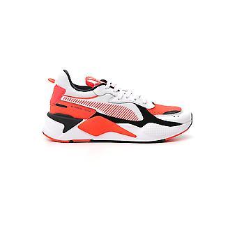 PUMA Orange/weiß Baumwolle Sneaker
