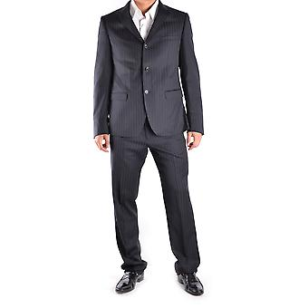John Richmond Blue Wool Suit