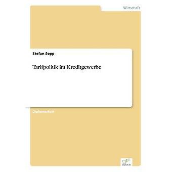 Tarifpolitik Im Kreditgewerbe von Sopp & Stefan