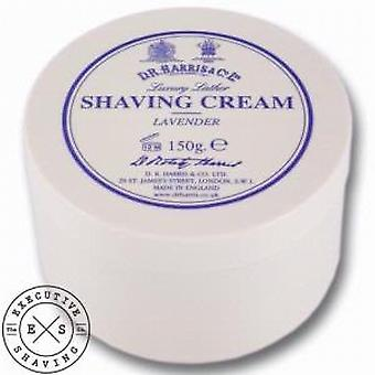 D R Harris crema da barba in lavanda 150g