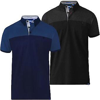 Duke D555 Mens Jauram King Size Big Tall Short Sleeve Polo Shirt T-Shirt Top