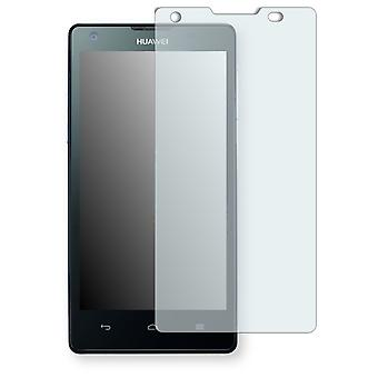 Huawei Ascend G700 display protector - Golebo crystal clear protection film
