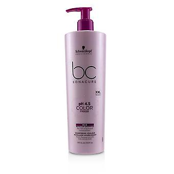 Schwarzkopf BC Bonacure pH 4.5 Color Freeze Rich Micellar Shampoo (For Overprocessed Coloured Hair) 500ml/16.9oz
