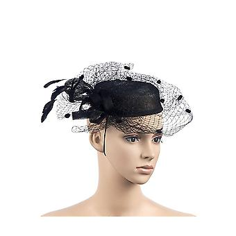 Intrigue Womens/Ladies Fascinator With Facial Veil