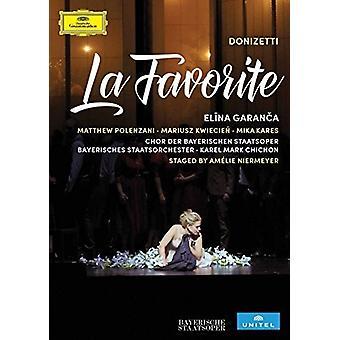 Divers artiste - Donizetti: Importation des USA de La Favorite [DVD]