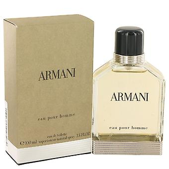 ARMANI by Giorgio Armani Eau De Toilette Spray 3.4 oz / 100 ml (Men)