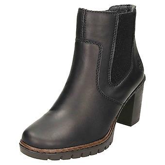 Rieker Chelsea High Heel Ankle Boots Y2574-00