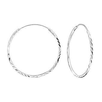 Обруч - 925 стерлингового серебра уха обручи - W18226X