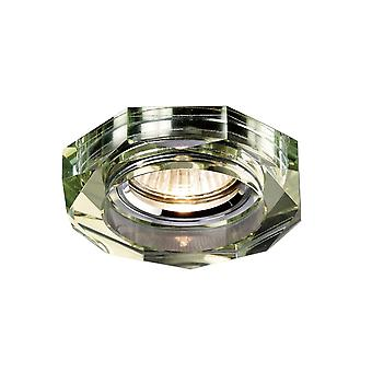 Diyas Crystal Downlight Deep Hexagonal Rim Only White Wine, IL30800 Required To Complete The Item