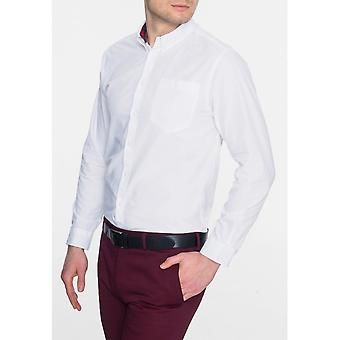 Merc White Albin Shirt
