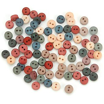 Dress It Up Embellishments Tiny Country Buttons 1346