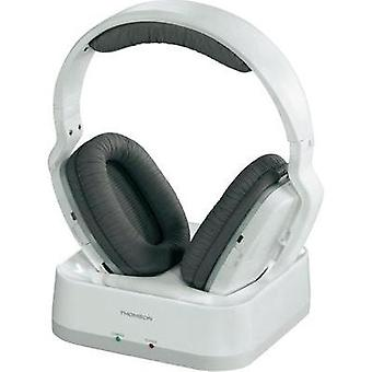 Cordless (1075099) Headphone Thomson WHP3311W Over-the-ear Volume control White